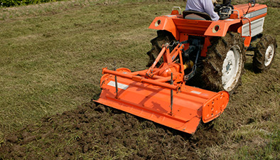 省力・低コストで土壌改善